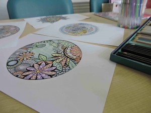 Mindful Colouring @ Oakleaf Enterprise