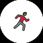 sprinting icon