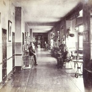 Brookwood Asylum in Surrey