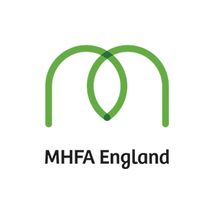 mental health first aid training logo
