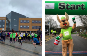 Kelly's Guildford 10k Mascot
